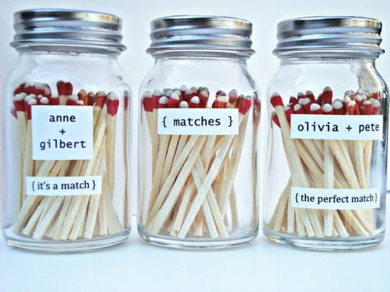 Mason Jar Wedding Favor Ideas