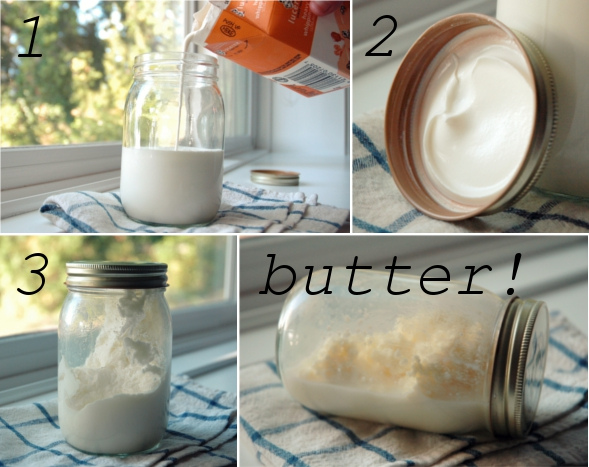 How to Make Your Own Butter