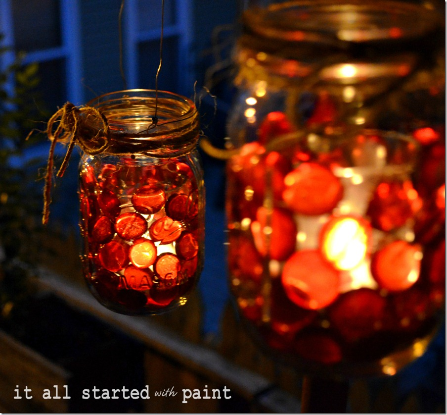 Amazingly Beautiful Mason Jar Lights