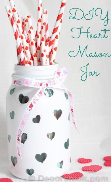 A Mason Jar Valentine
