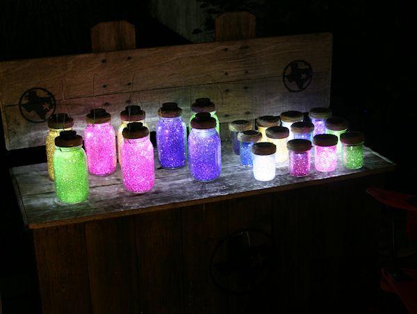 Solar Sparkly Mason Jar Lights