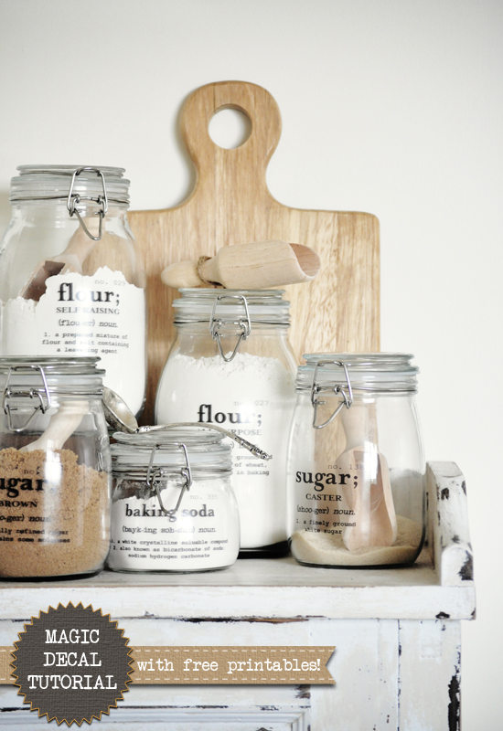 Mason Jar Crafts – Free Printables for Jar Crafts