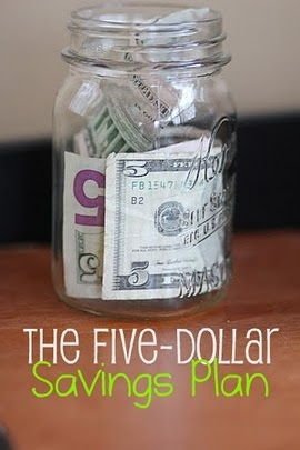 The $5 Savings Plan (in a Mason Jar)