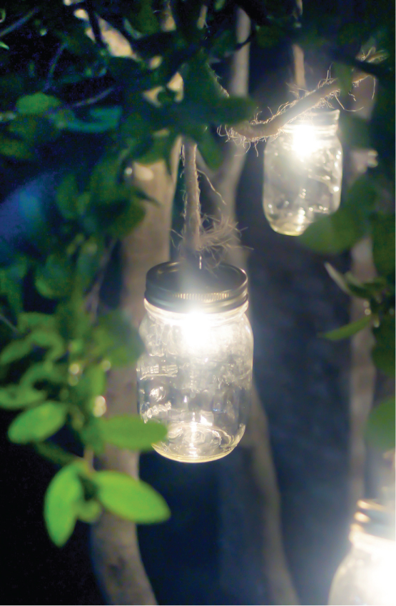 Mason Jar Craft – Outdoor Lights