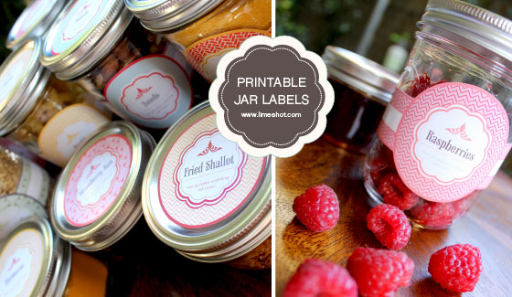 mason jar crafts labels