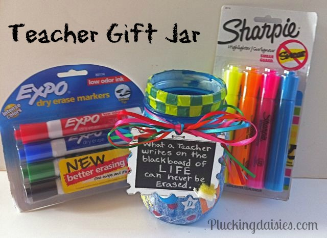 Mason Jar Gift for a Teacher