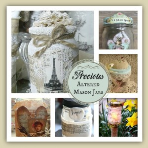 6 Incredibly Precious Altered Mason Jars