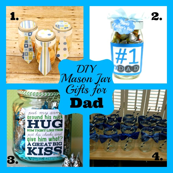 Mason Jar Gifts for Dad