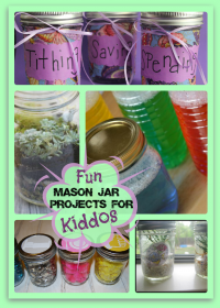 5 Super Fun Mason Jar Projects for Kids
