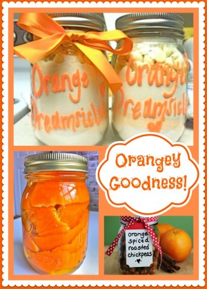 Mason Jars Theme – Orange