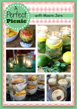 A Perfect Picnic – Starring the Mason Jar!