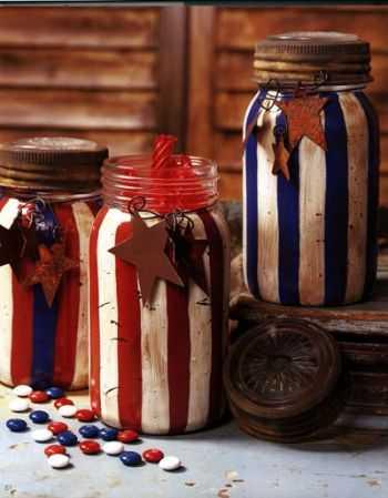 americana mason jars