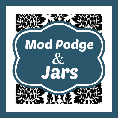 10 Pretty Mod Podge Jars