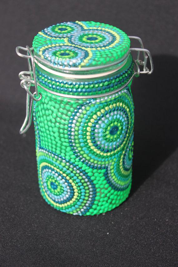 Painted Mason Jars Incredibly Beautiful