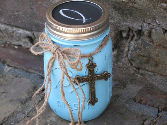 scripture mason jar