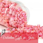 Sweet Valentine gifts in jars.