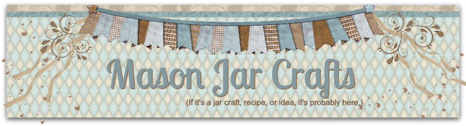 Tons and tons of jar crafts!