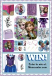 Win a Frozen Birthday Party or Princess Anna Dress!