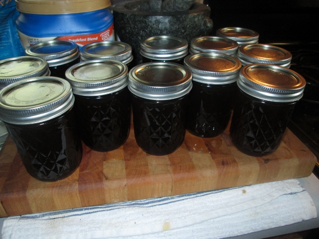 Homemade Kahlua in Mason Jars