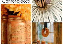 Mason Jar Centerpieces: {3 Darling} Ideas