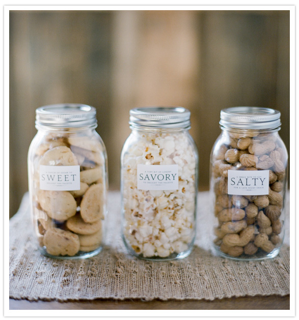 Very simple idea using Mason Jars. Love this so much.
