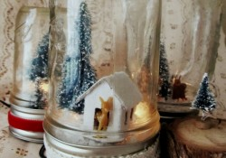 How to Make a Mason Jar Snow Globe – An Easy DIY