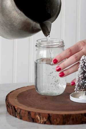 Mason Jar Snow Globe Picture 1