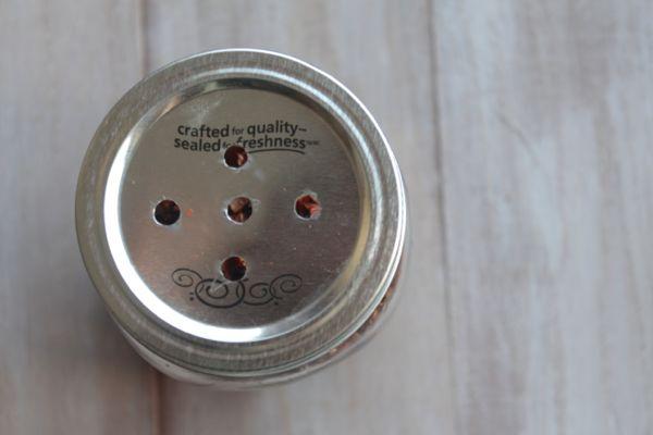 Mason Jar Shaker Lid