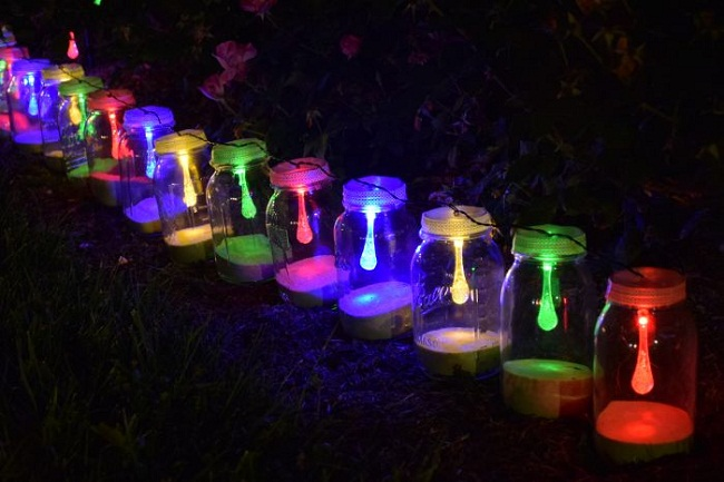 Mason Jar Solar String Lights