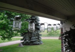 How to Make Mason Jar String Lights