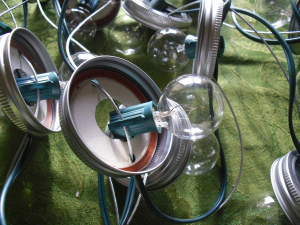 Mason Jar String Lights Picture 5