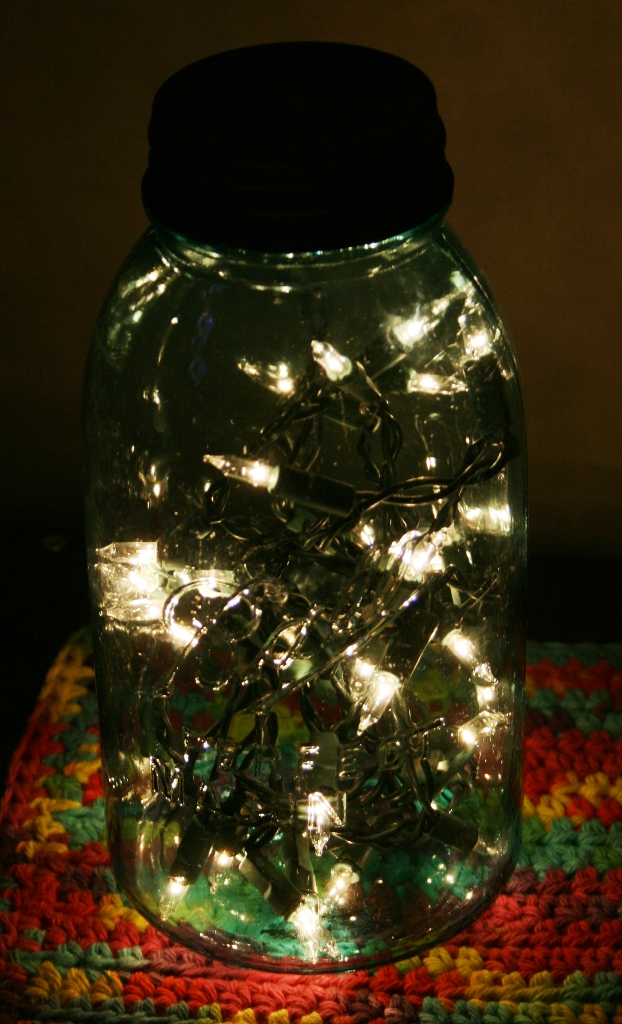 Firefly Night Light Mason Jar