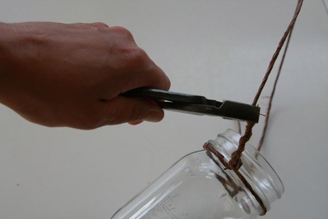 Hanging Mason Jar Candle Picture 5