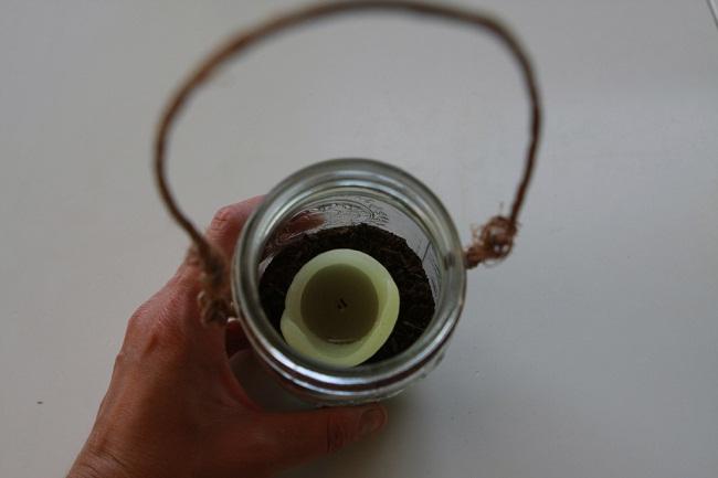Hanging Mason Jar Candle Picture 6