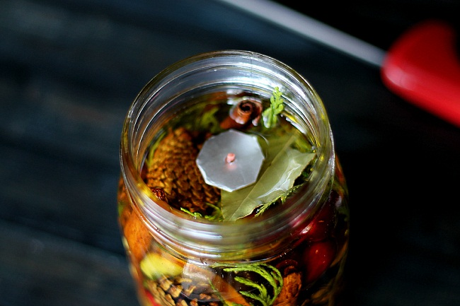Mason Jar Oil Lamp Picture 3