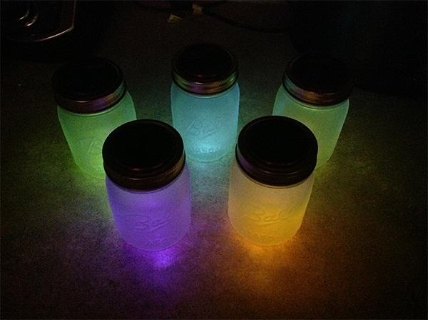 Mason Jar Solar Night Lights