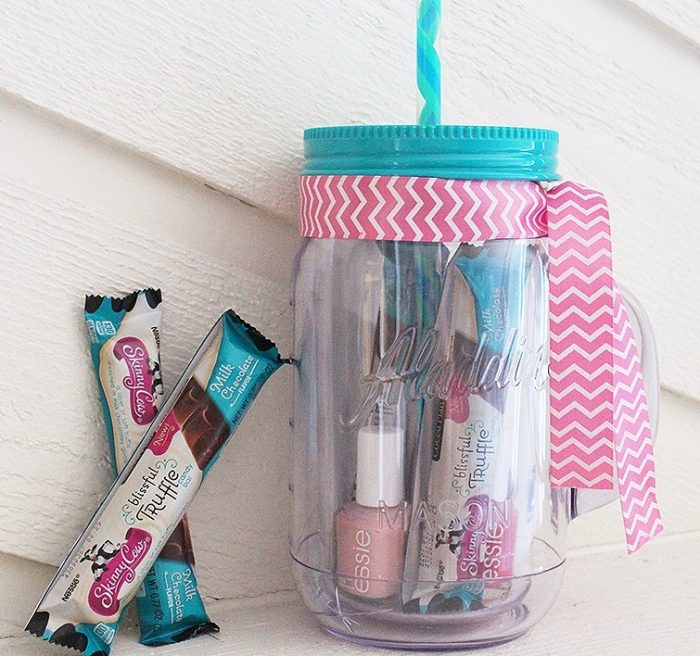 Mason Jar Tumbler With Straw
