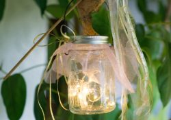 How to Make Mason Jar Fairy Lights