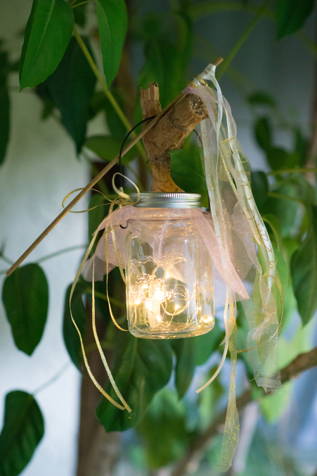 Fairy Lights Mason Jar
