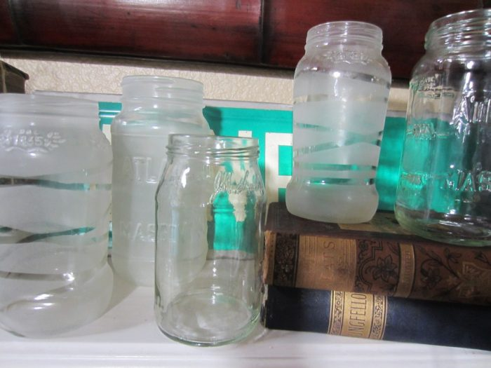 Frosted Mason Jars Picture 4