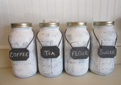 DIY Mason Jar Canisters: A Kitchen Storage Solution