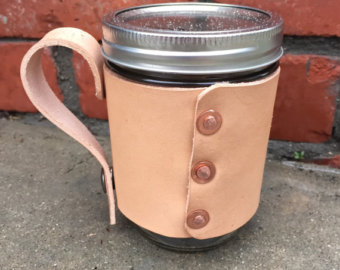 Mason Jar Coffee Cup