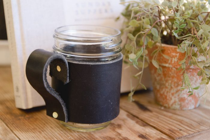 Mason Jar Coffee Mug Holder