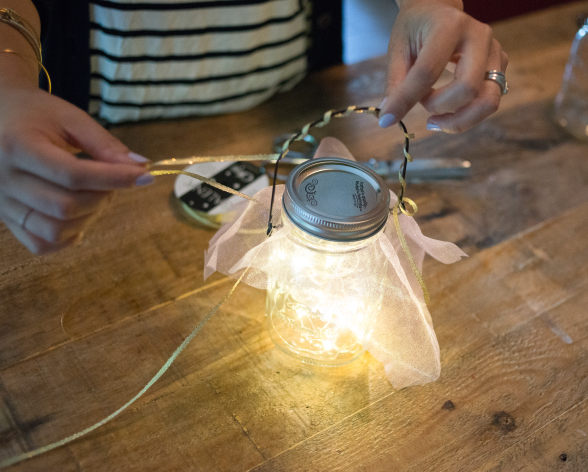 Mason Jar Fairy Lights Picture 4