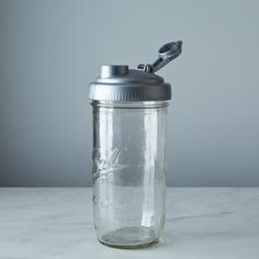 Mason Jar Water Bottle
