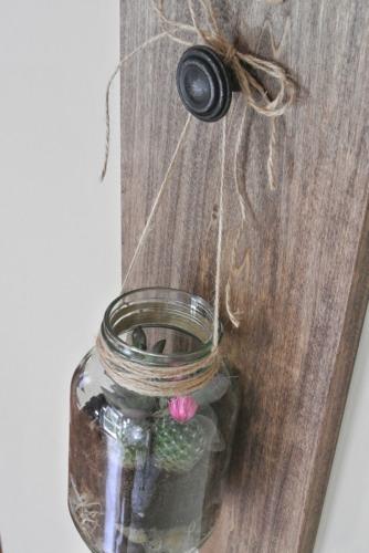 How to Make Mason Jar Hanger With Twine