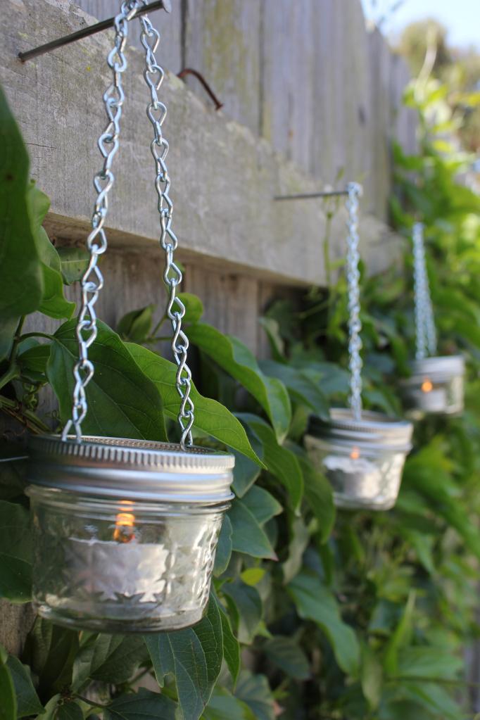 Mason Jar Chain Hangers