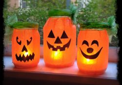 Mason Jar Pumpkin Tutorial
