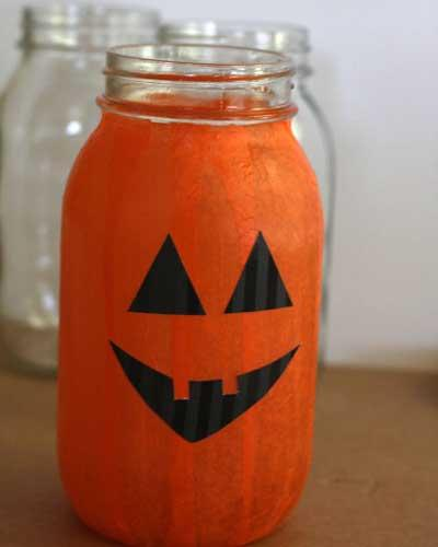 Mason Jar Pumpkin Picture 2