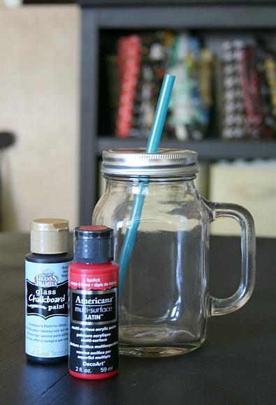 Chalkboard Mason Jars Picture 1